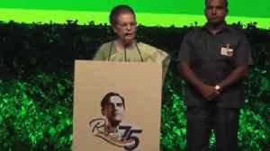 Sonia Gandhi slams Modi government at Rajiv Gandhi anniversary event [Video]