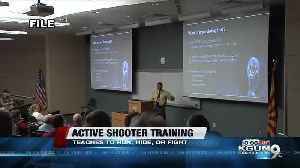 Run, hide, fight: Tucson Police hosts active shooter training [Video]