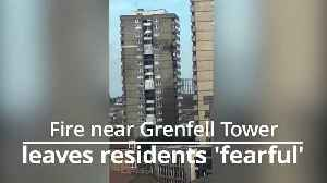 Residents 'fearful' Notting Hill fire could have been a repeat of Grenfell Tower [Video]