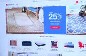 News video: Overstock shares surge after CEO quits