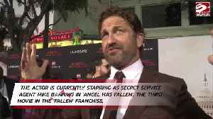 Gerard Butler would 'call in sick' if asked to help Donald Trump or Boris Johnson [Video]