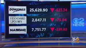 Stock Market Plunges Amid Trade Wars, Fears Of Slowing Economy [Video]