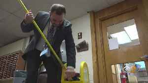 Clifton School's New Assistant Principal Started As Custodian [Video]