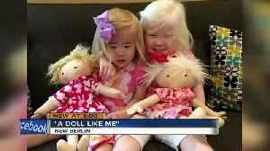 New Berlin mom makes dolls for kids with physical differences [Video]