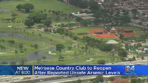Melreese Country Club And Golf Course To Reopen [Video]