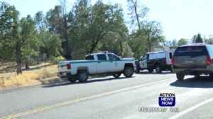 Roads closed, residents wait at Mountain Fire evacuation center [Video]
