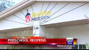Pee Wee Preschool reopens after the Camp Fire [Video]
