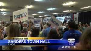 Senator Bernie Sanders speaks on immigration in Chico [Video]