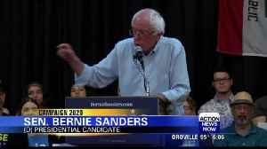 Senator Bernie Sanders speaks to supporting fossil fuel workers [Video]