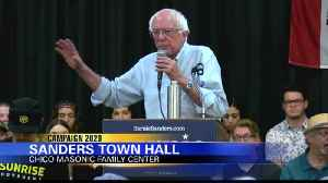 Presidential candidate Sen. Bernie Sanders speaks in Chico [Video]