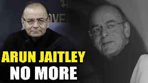 Former Finance Minister Arun Jaitley passes away at the age of 66 [Video]