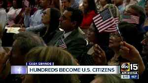 250 people take oath to become U.S. citizens in Arizona [Video]