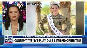 Conservative Views Cost Miss Nevada Her Crown [VIDEO] [Video]