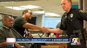 A barbershop's run-in with police became an inspiring community connection [Video]