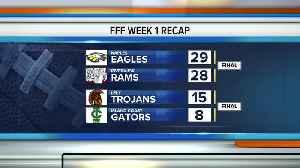 Highschool football final scores [Video]