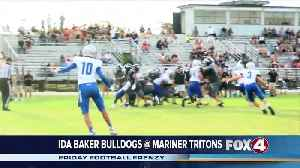 Ida Baker High School Bulldogs at Mariner High School Tritons [Video]