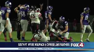 South Fort Myers High School Wolfpack at Cypress Lake Panthers [Video]