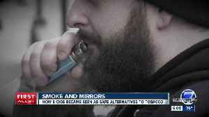 First case of vaping-related lung illness confirmed in Colorado, state health officials say [Video]