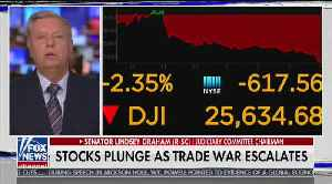 News video: Lindsey Graham discusses trade war with China
