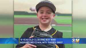 Young Brody Nelson, Whose Brain Cancer Fight Inspired His Community, Passes Away [Video]