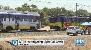 NTSB Investigating Light Rail Crash [Video]