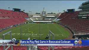 Rams To Play First Game In Renovated LA Coliseum [Video]
