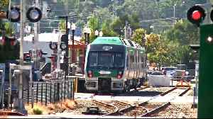 SMART Train Extension to Larkspur Begins Overnight Testing [Video]