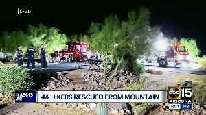 44 hikers rescued from Lost Dutchman State Park trail [Video]