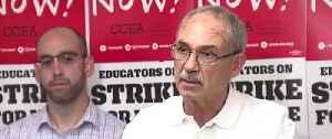 CCEA update on strike negotiations [Video]