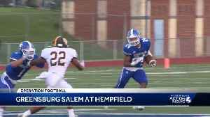 Operation Football: Greensburg Salem at Hempfield [Video]