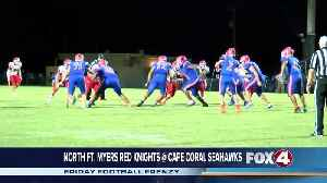 North Fort Myers High School Red Knights at Cape Coral Seahawks [Video]