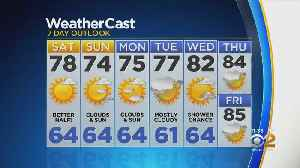 New York Weather: CBS2 8/23 Nightly Forecast at 11PM [Video]