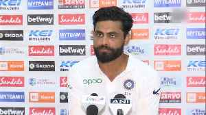 News video: India vs West Indies | Always want to give my best: Ravindra Jadeja