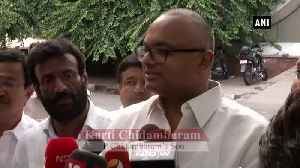 Neither I nor my father is corrupt Karti Chidambaram [Video]