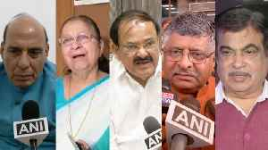 Political leaders react to Arun Jaitley's death [Video]