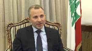 Exclusive: Euronews interview with Lebanon FM Gebran Bassil [Video]