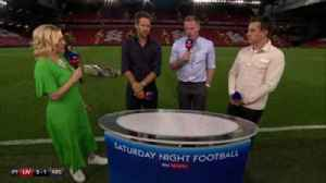 Carragher 'cut off' by groundsman [Video]