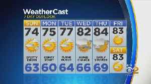 New York Weather: CBS2 8/24 Weekend Forecast at 6PM [Video]