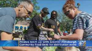 Pirates Team Up With Food Bank [Video]