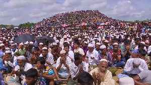 Thousands of Rohingya refugees gather for 'Genocide Day' prayer [Video]