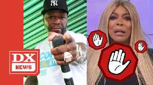 News video: 50 Cent Basks In Blocking Wendy Williams During His Tycoon Party