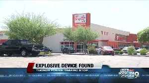 TPD find possible explosive device during traffic stop near southside [Video]