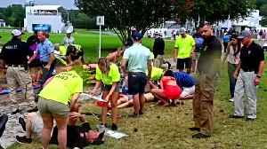 Six hurt after lightning strike during PGA Tour Championship [Video]