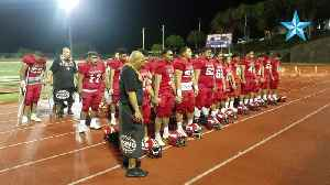 Fagaitua High School sings to Hawaii fans after loss to Fagaitua High School [Video]