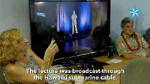University of Hawaii uses 3D holograms to beam live lectures to America Samoa [Video]