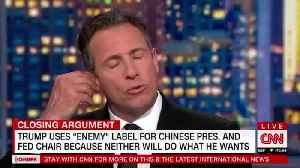Chris Cuomo: 'The President's Mouth is a Threat to This Country' [Video]