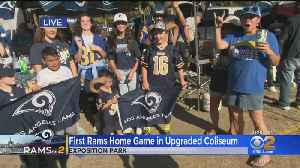 Rams Fans Ready To Rock New-Look Coliseum [Video]
