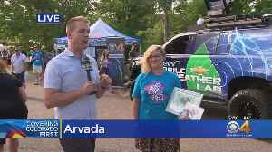 Great Weather, Great Art At Arvada Center's Arts & Ales Festival [Video]