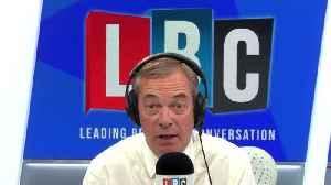 Nigel Farage Responds To Philip Hammond's Letter To Boris Johnson On No-Deal Document Leak [Video]