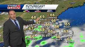 Video: Clouds, scattered showers expected to last through afternoon [Video]